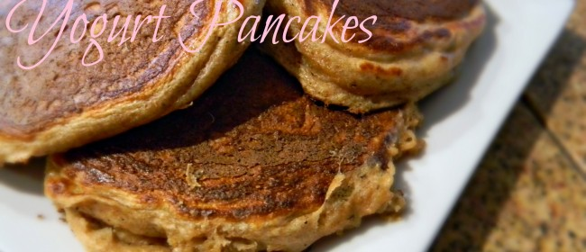 Weekend Brunch: Whole Wheat Greek Yogurt Pancakes
