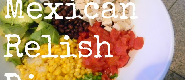 'Touchdown' Mexican Relish Dip