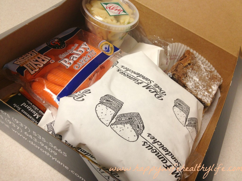 dlm boxed lunch