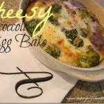 Weekend Brunch Edition: Cheesy Broccoli Egg Bake