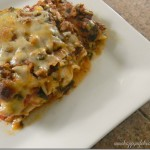 Cheesy Spinach Whole Wheat Lasagna