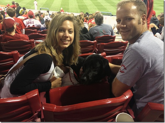 Cincinnati Reds Bark at the Park