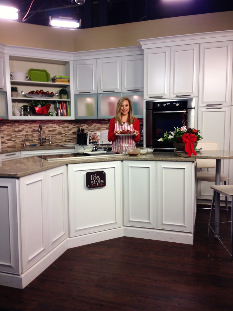 Jana Antil Cooking in the Kitchen on Living Dayton