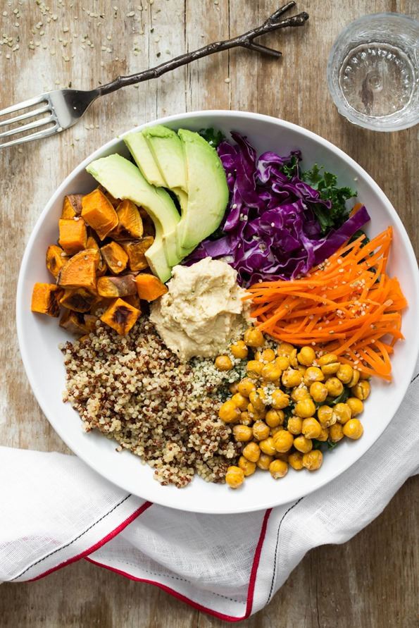 The Big Vegan Bowl via Oh She Glows