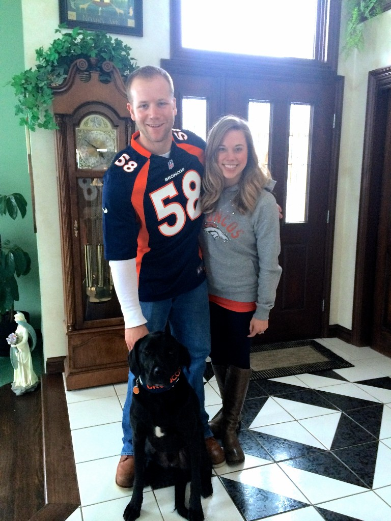Tim, Jana and Tebow Denver Broncos