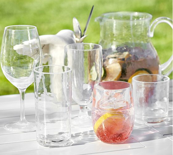 Pottery Barn PB Classic Outdoor Drinkware in stemless