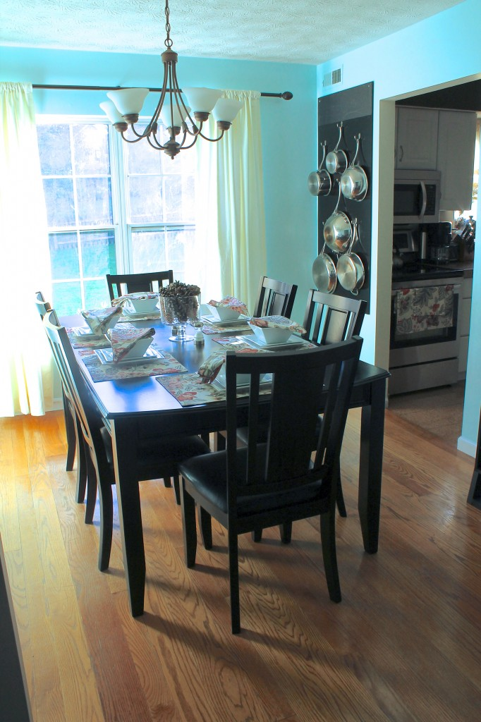 Dining Room Makeover :: Happy Wife Healthy Life