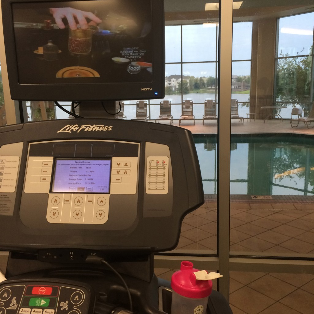 Hotel Gym - Marriott Indianapolis, IN