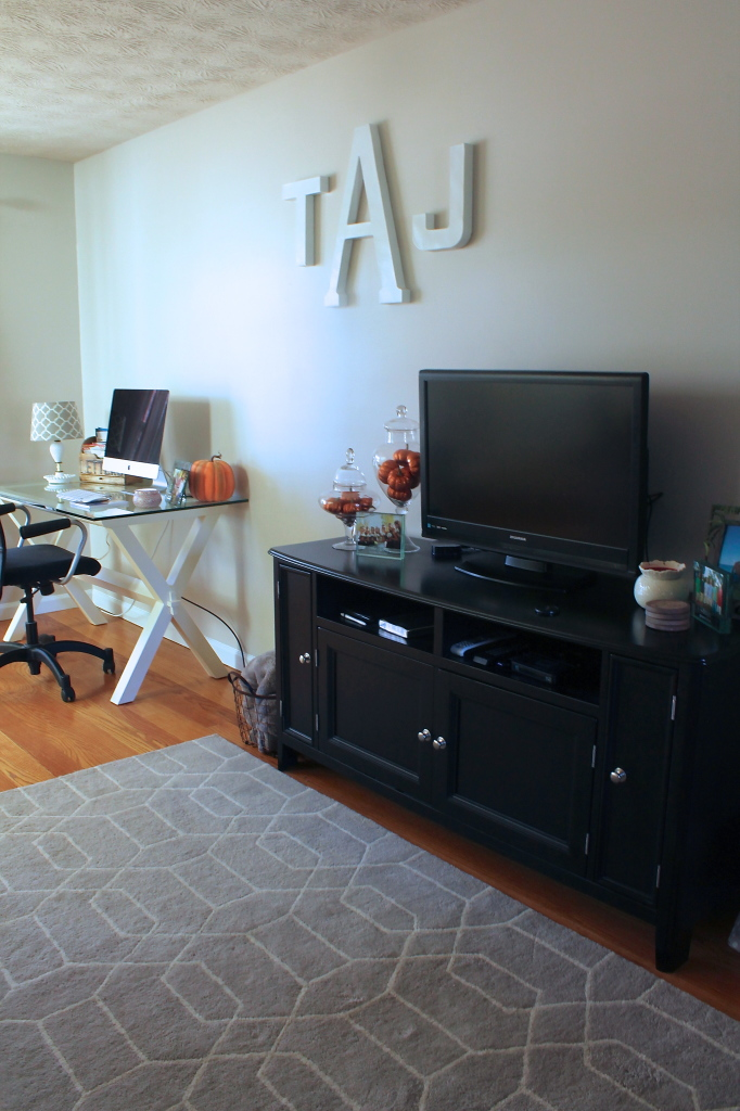 My Home Reveal: Living Room and Office Space