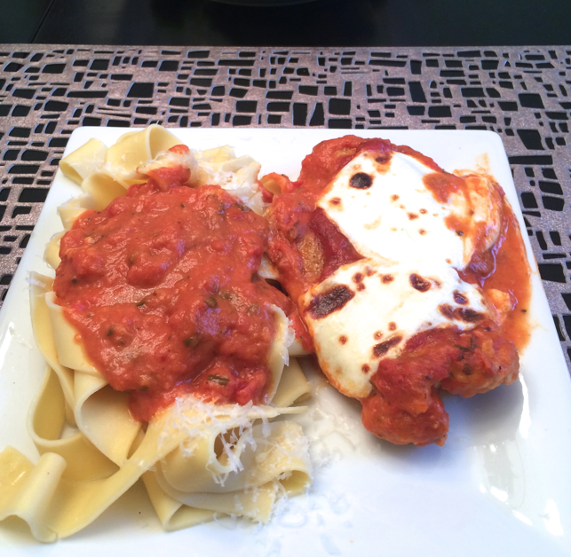 Homemade Chicken Parmesan - Pregnancy Craving