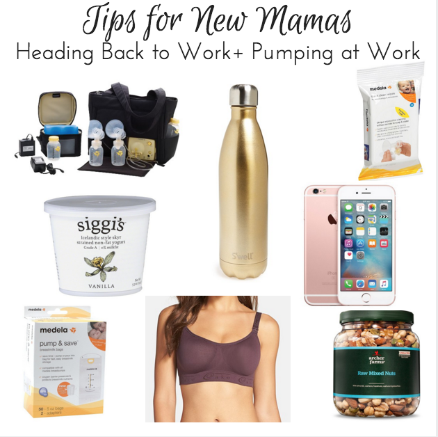 Tips for New Mamas Heading Back to Work + Pumping at Work