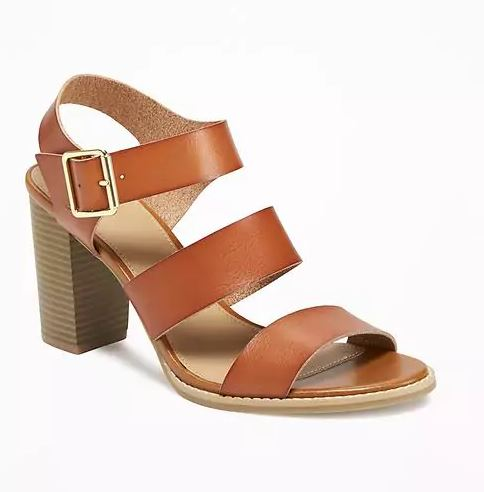 Old Navy Block-Heeled Sandals