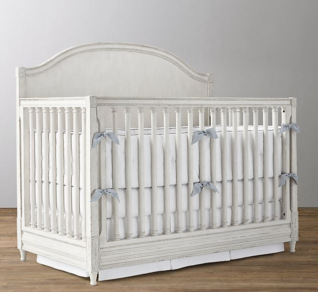 Restoration Hardware: BELLINA LOW-PROFILE ARCHED PANEL CONVERSION CRIB