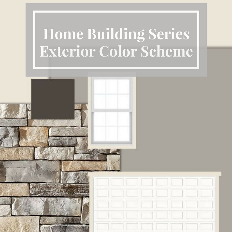 Home Building Series: Exterior Plan Front Door