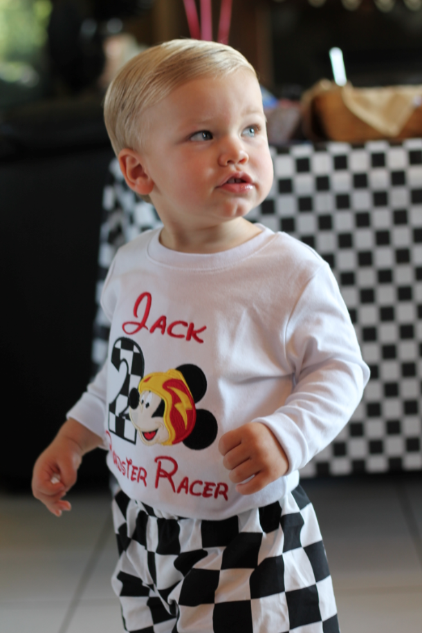 Jack's Roadster Racers Party