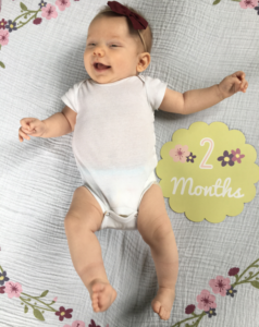 Savannah James - One and Two Month Update
