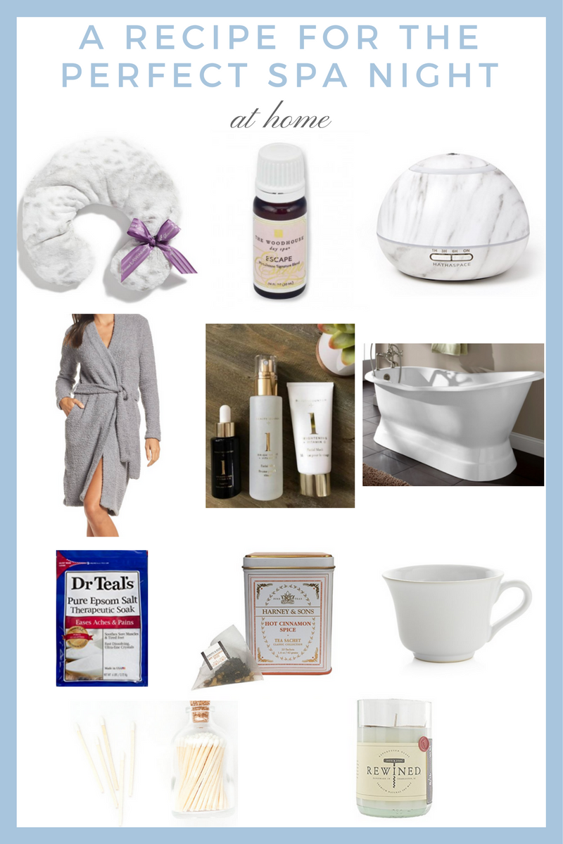 A Recipe for the Perfect Spa Night at Home