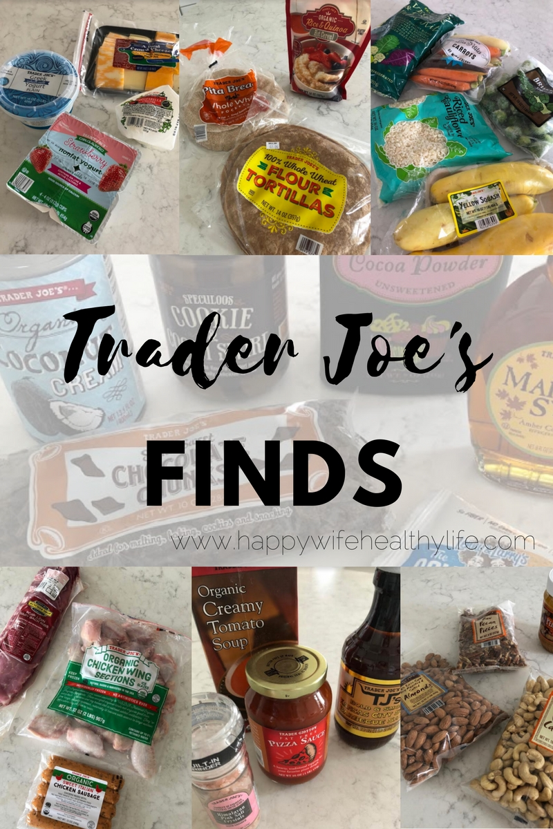 Trader Joe's Finds - Happywifehealthylife.com