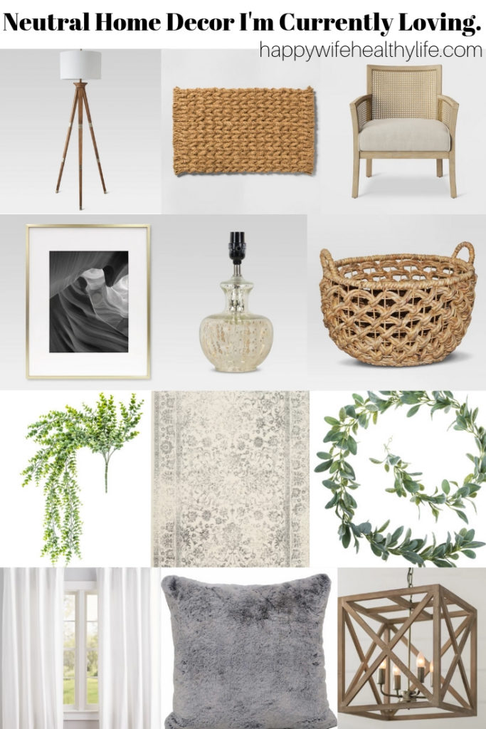 Neutral Home Decor I M Currently Loving